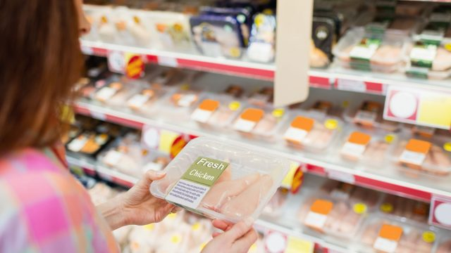 Grocery store chicken disease