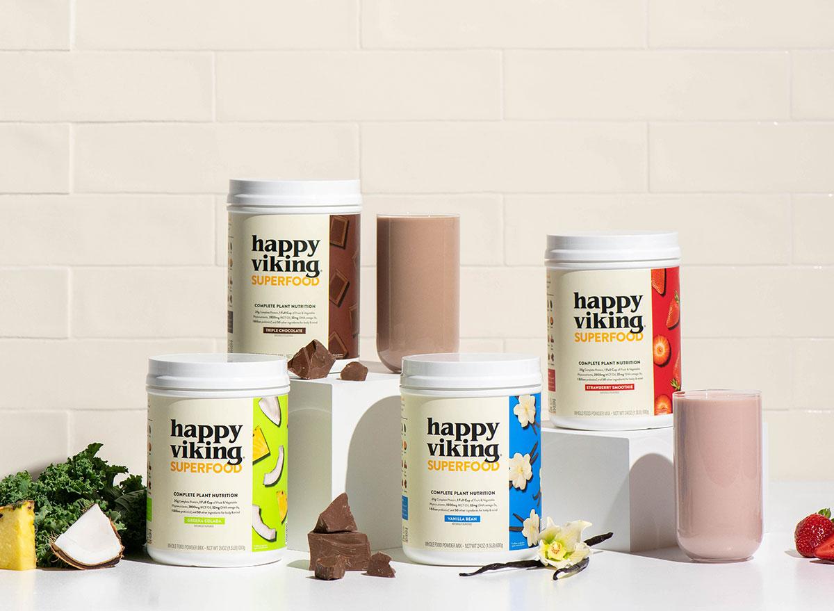 happy viking superfood plant nutrition powder