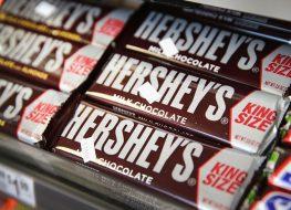hersheys milk chocolate bar