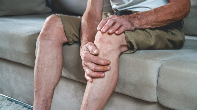 Pain,In,The,Legs,And,Knees,Of,An,Elderly,Senior.