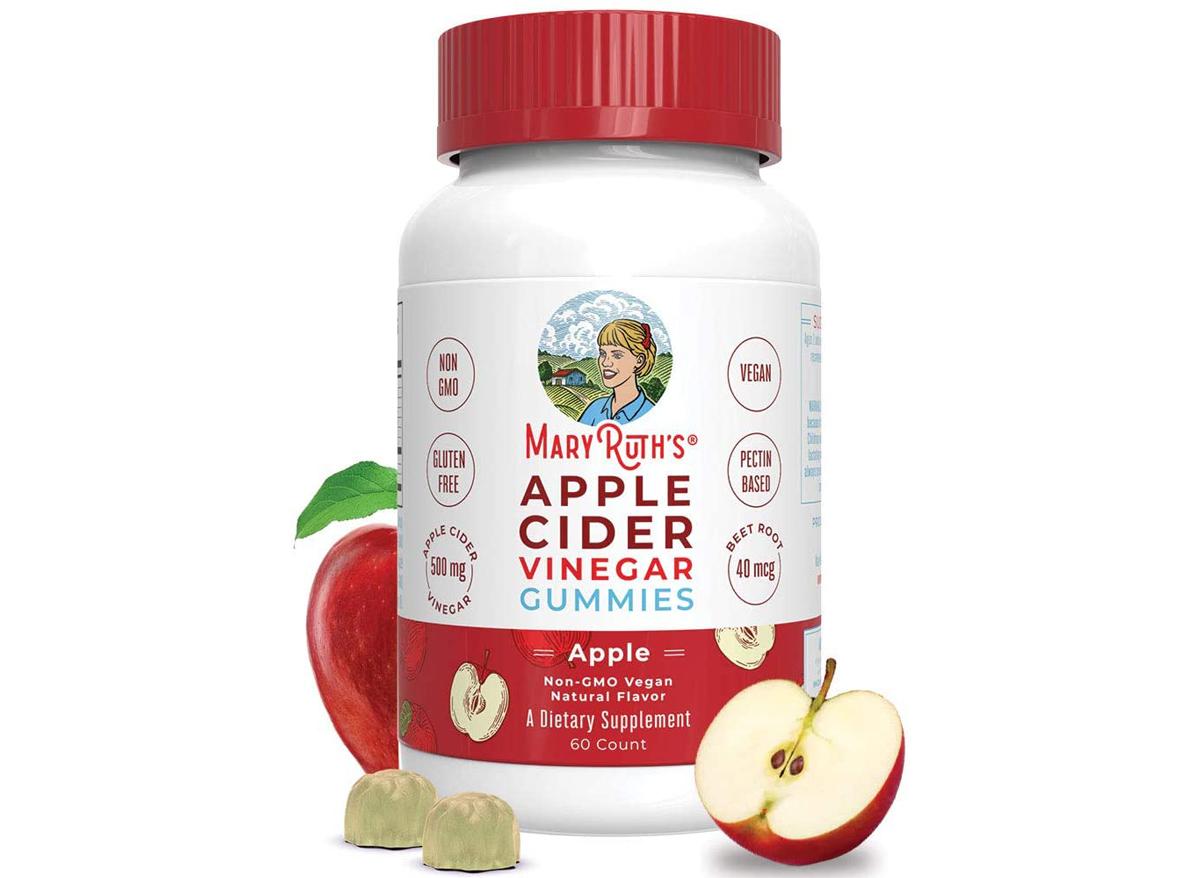 mary ruth apple cider vinegar supplements