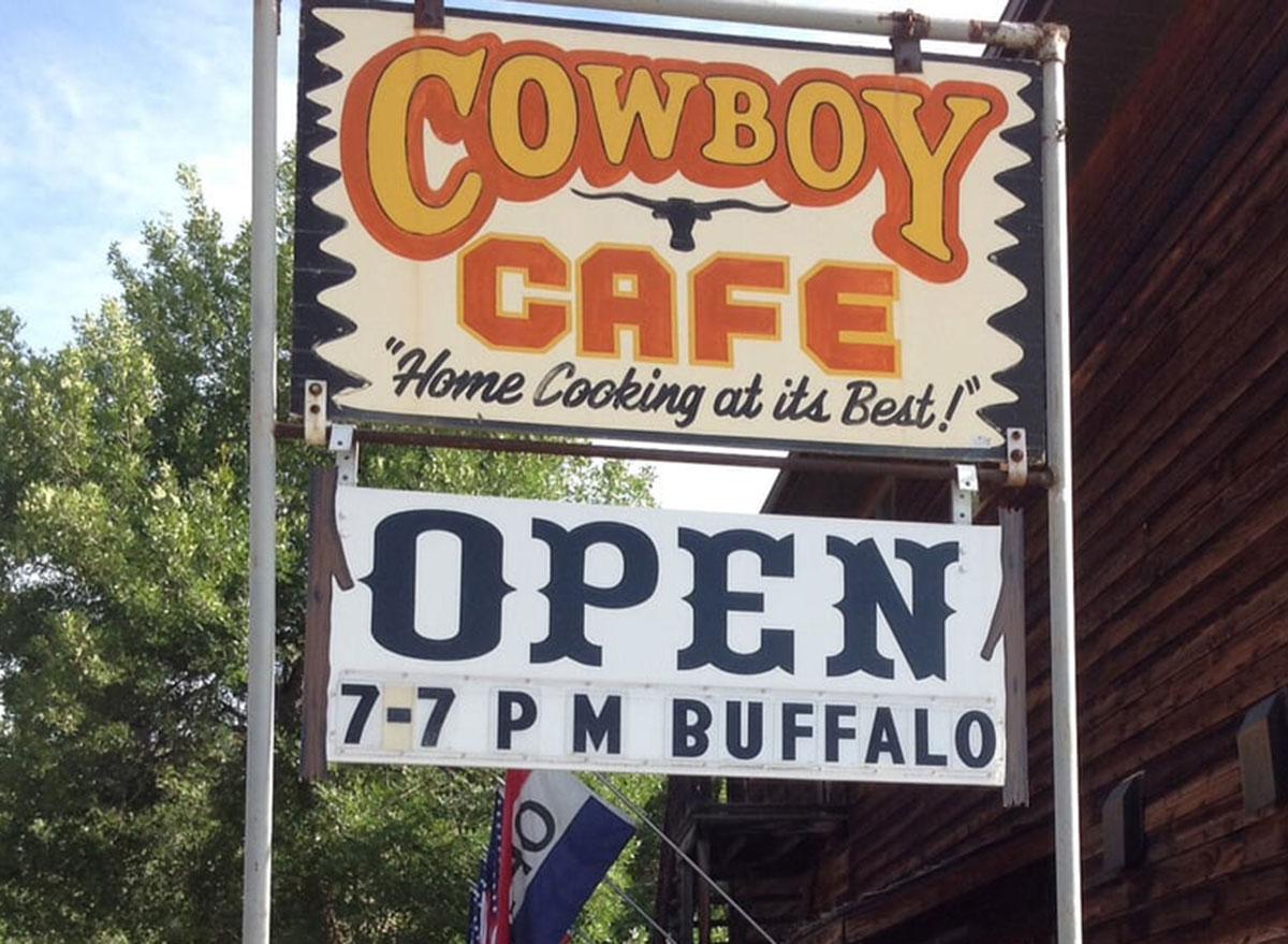 north dakota cowboy cafe