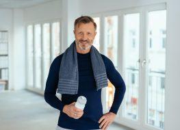 older man fit workout