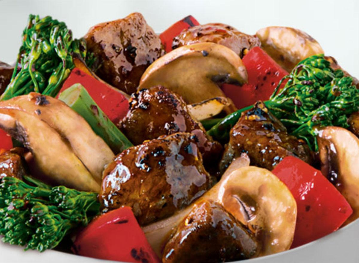 panda express black pepper angus steak