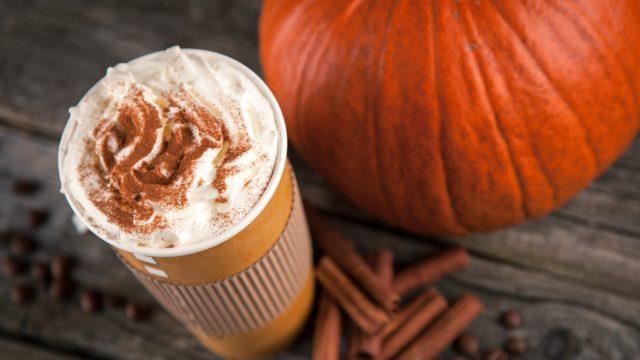 Pumpkin,Spice,Latte,In,A,Paper,Cup