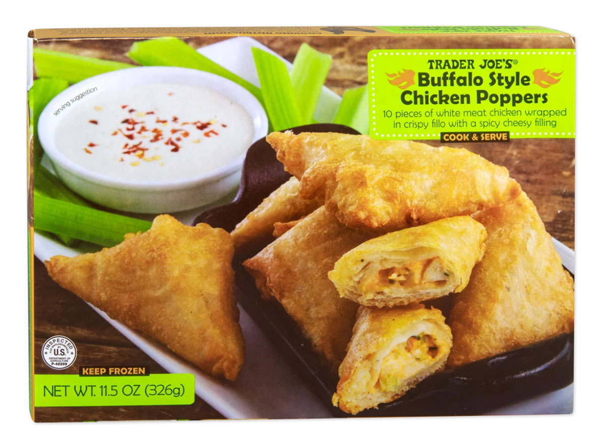 trader joes buffalo style chicken poppers