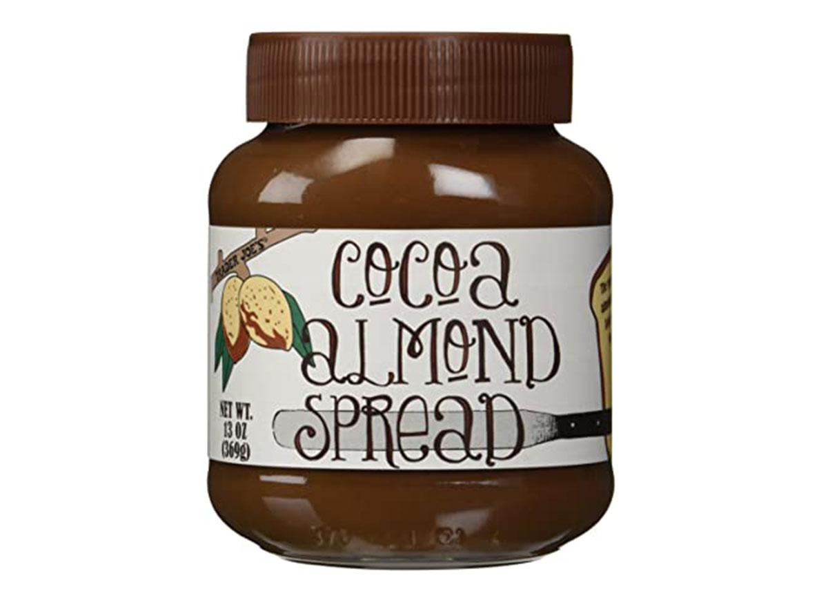 trader joes cocoa almond spread