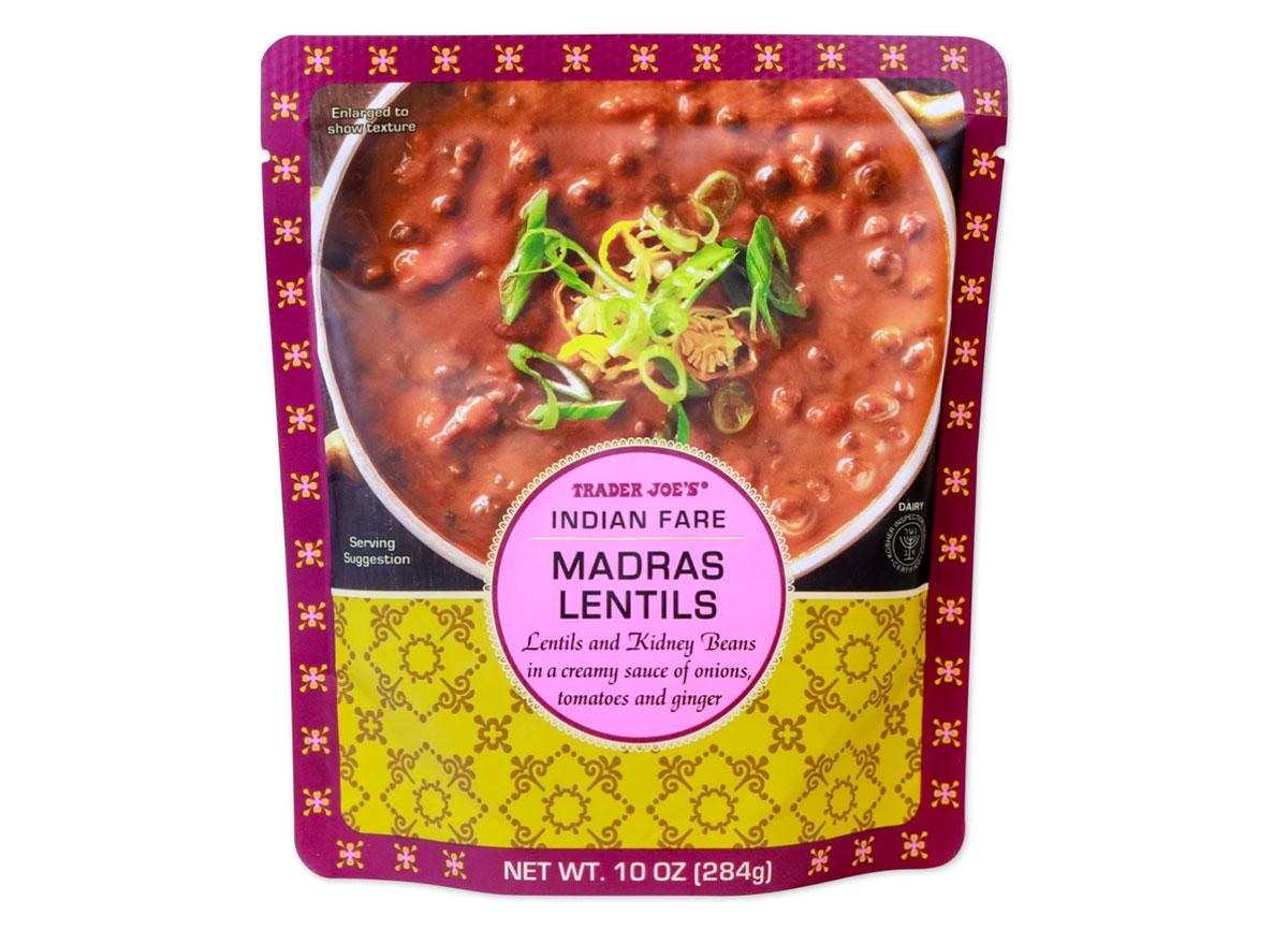 trader joes madras lentils