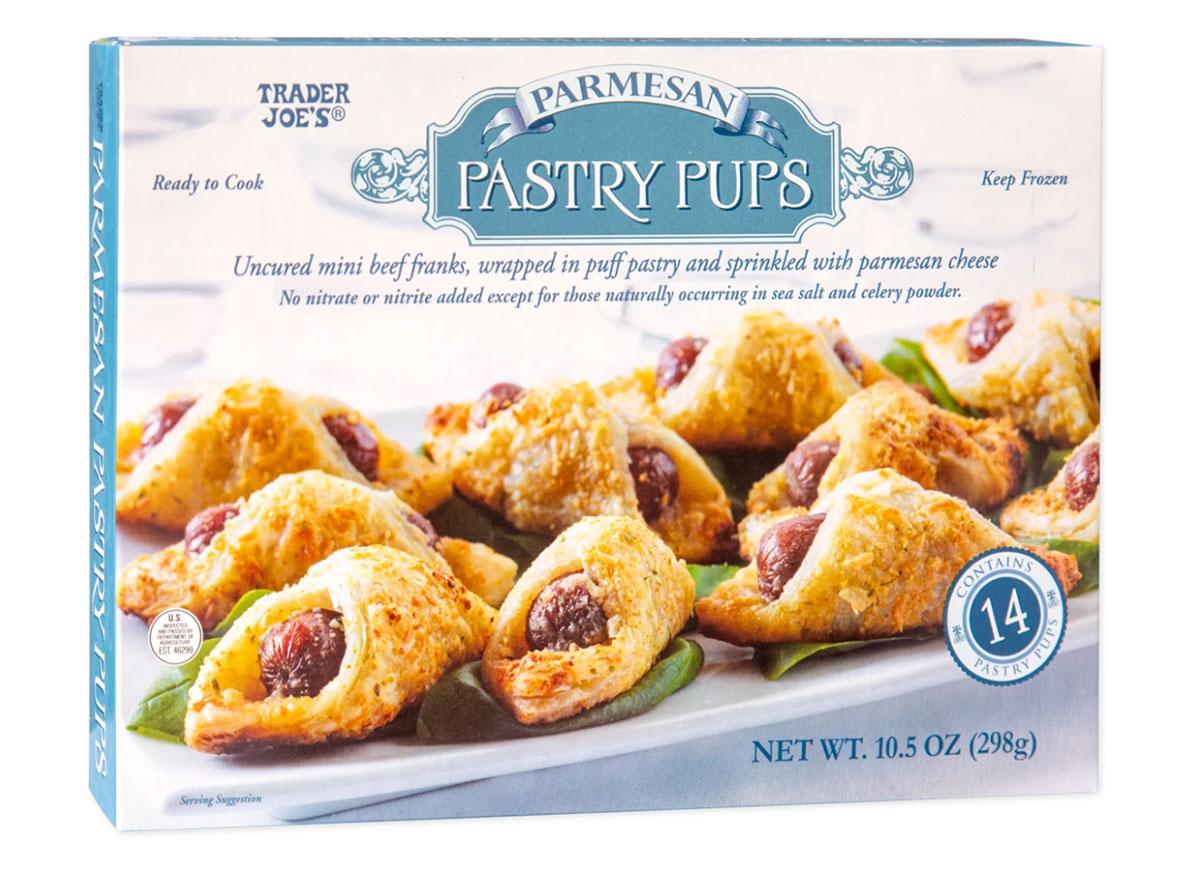 trader joes parmesan pastry pups