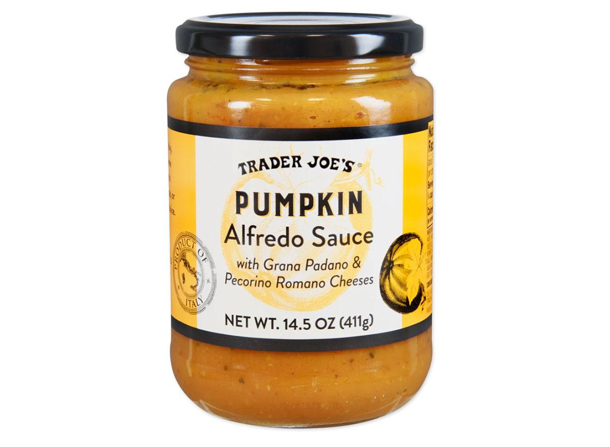 trader joes pumpkin alfredo sauce