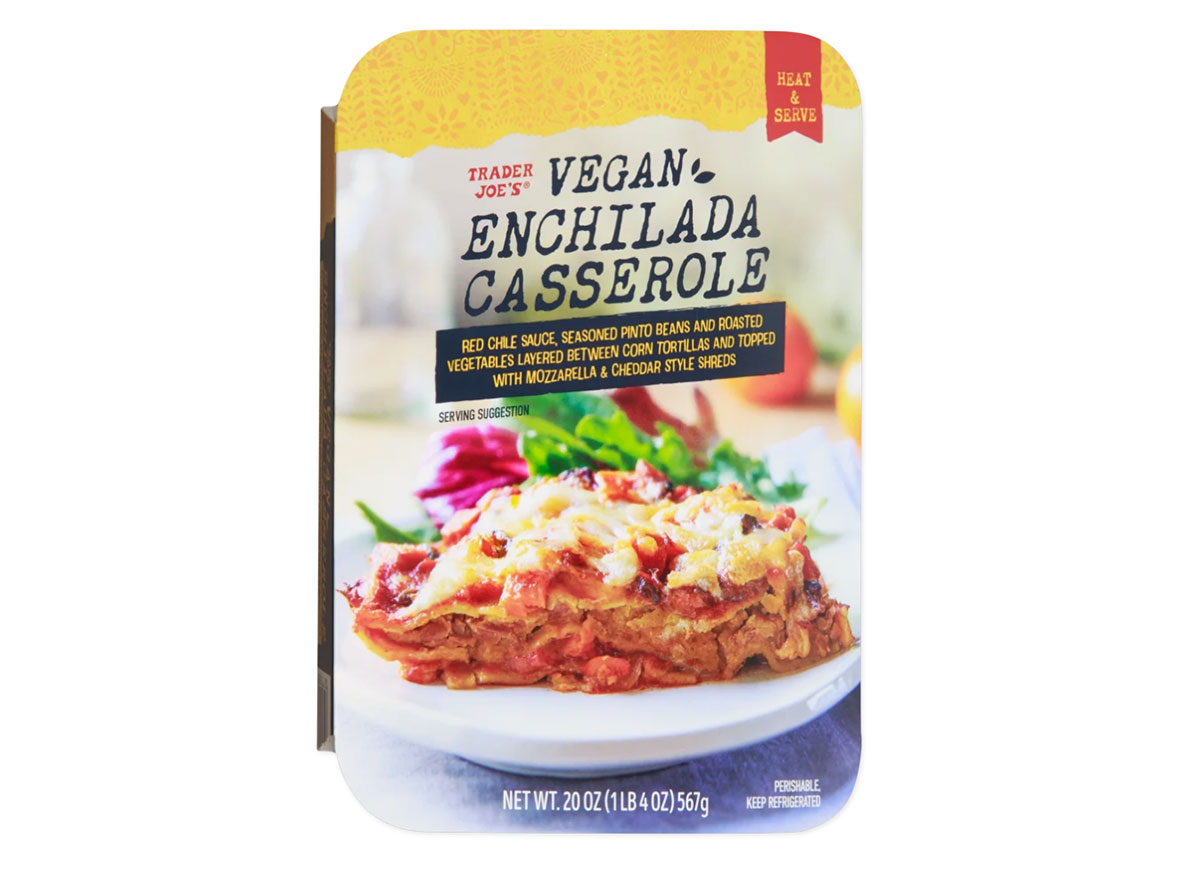 trader joes vegan enchilada casserole