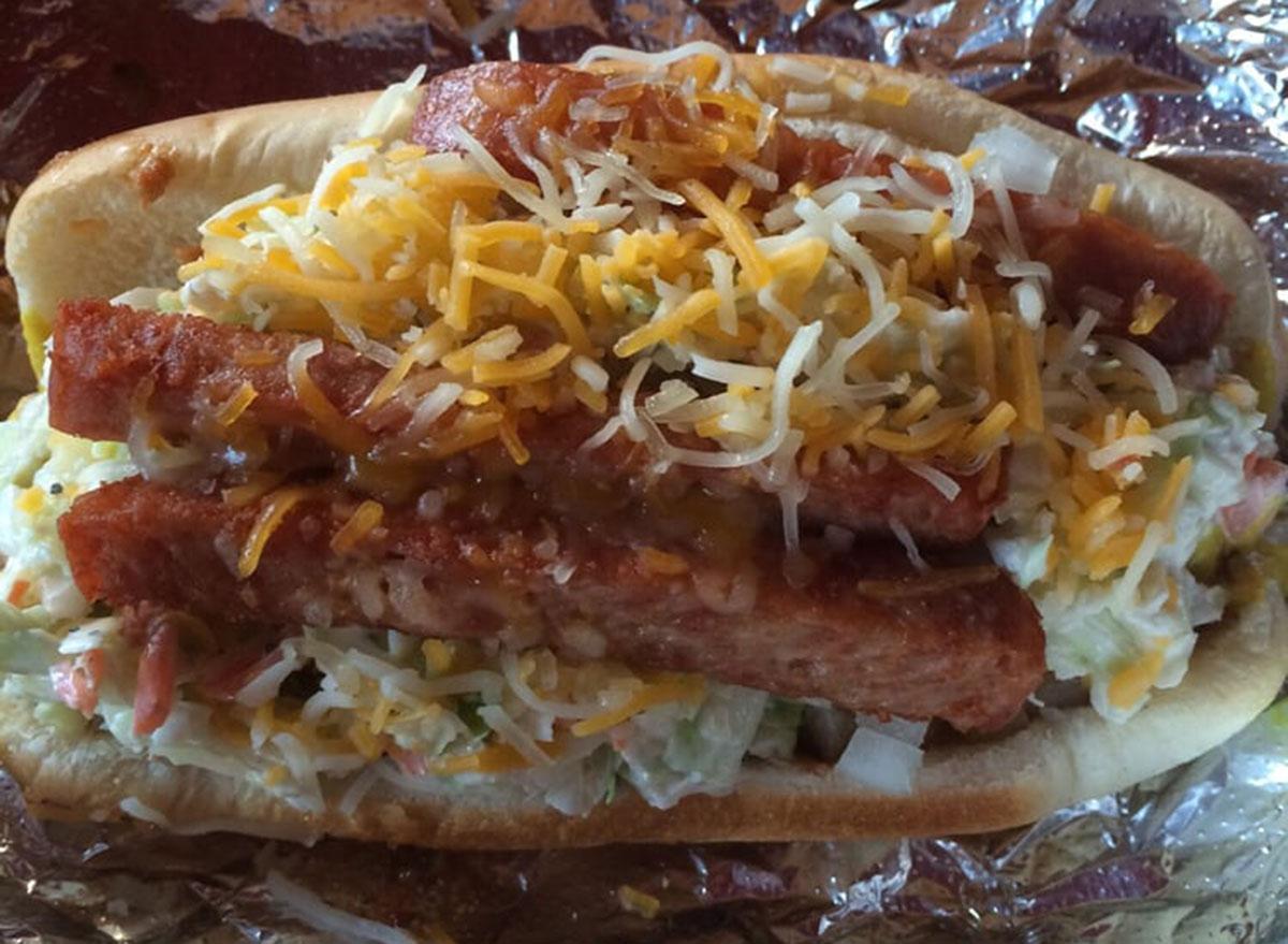 west virginia hillbilly hot dogs