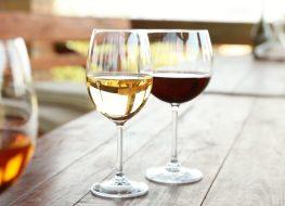 white red wine