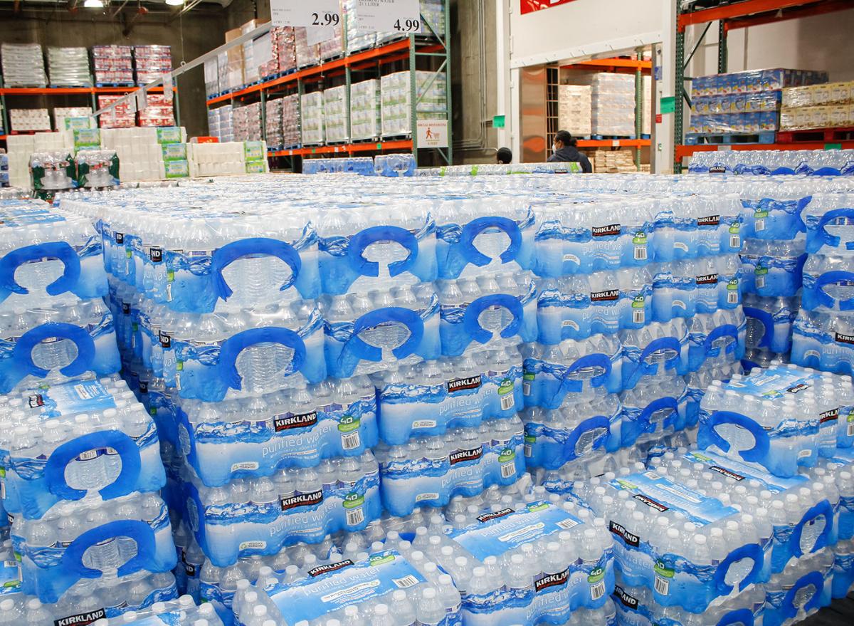 Costco Kirkland water