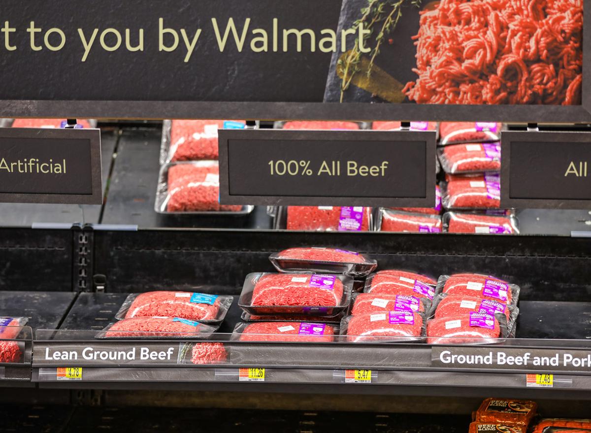 Walmart beef