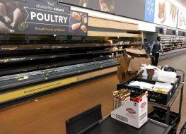Walmart shortage
