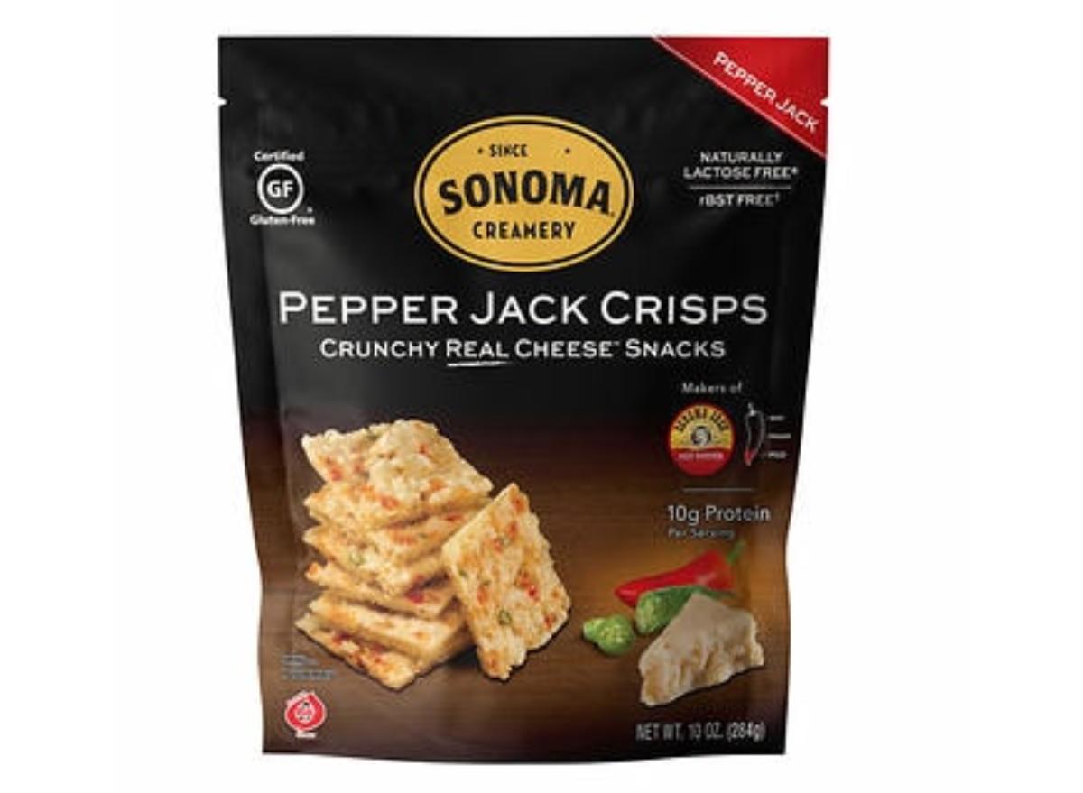 Costco Sonoma Creamery Pepper Jack Crisps