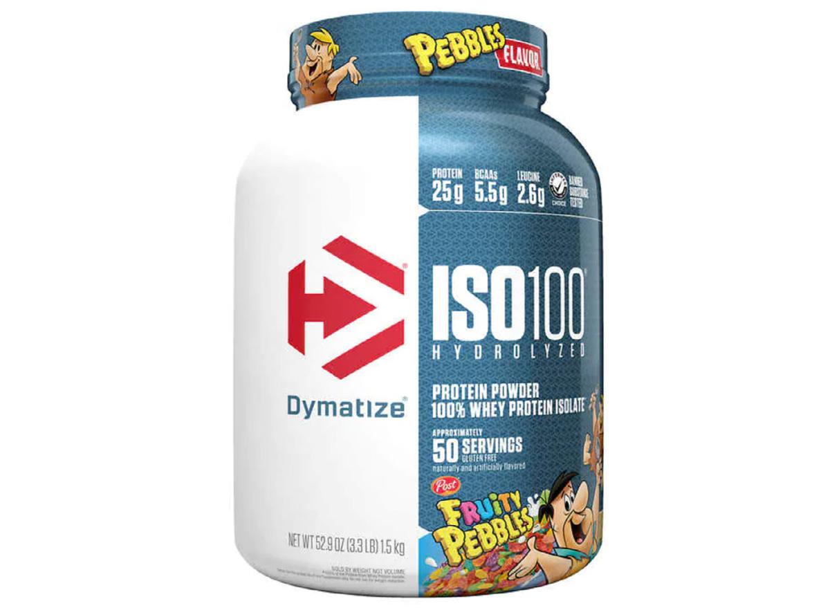 Costco Dymatize ISO 100 Hydrolyzed Whey Protein Fruity Pebbles