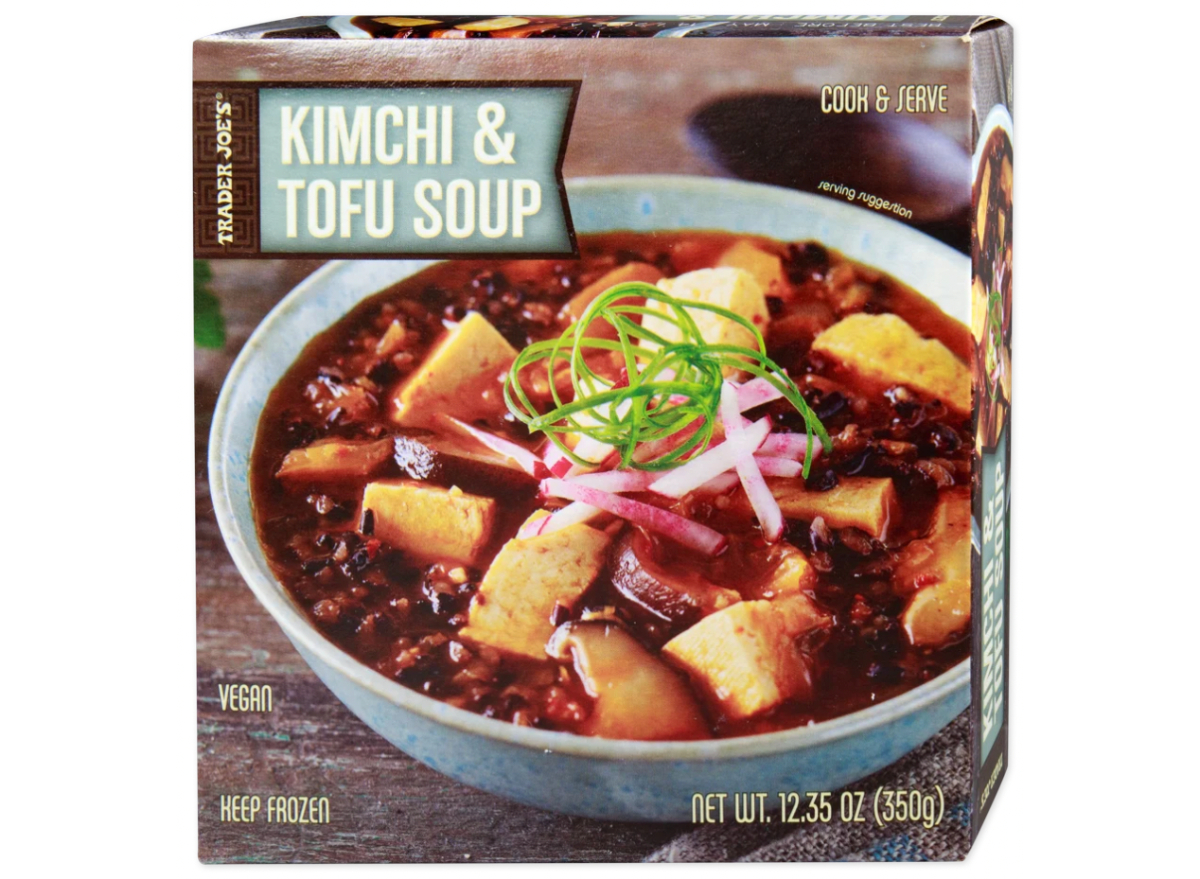 Trader Joe's Kimchi & Tofu Soup