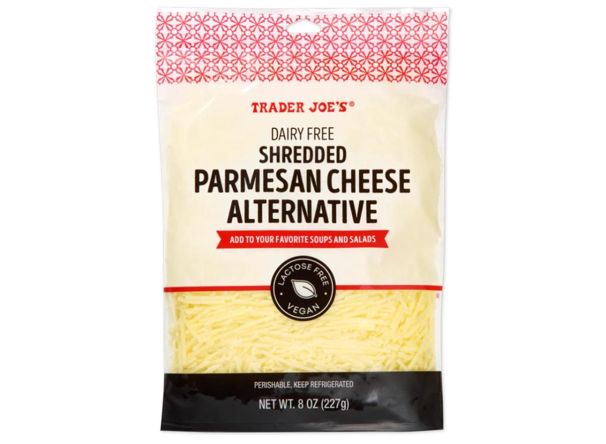 Trader Joe's Shredded Parmesan Cheese Alternative
