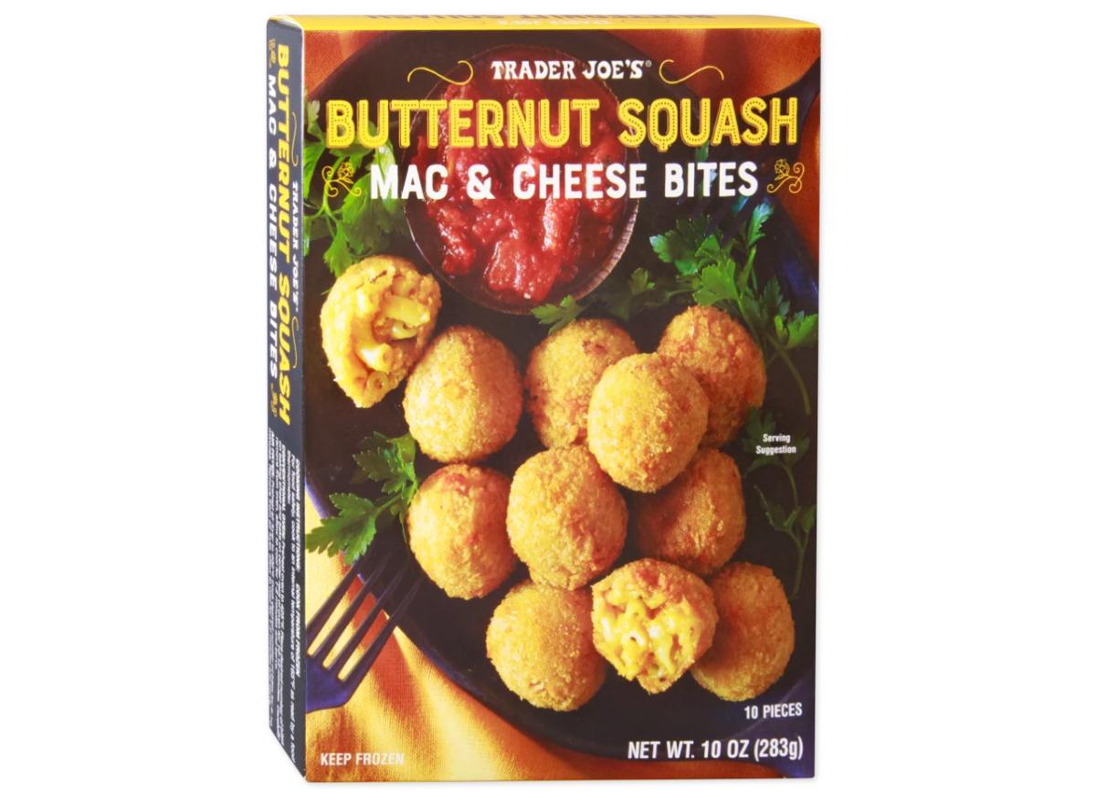 Trader Joe's Butternut Squash Mac & Cheese Bites