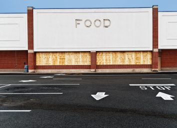 Grocery store closed