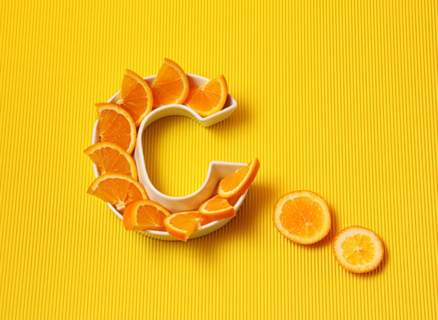 Major Effects of Taking Vitamin C Supplements After 50, Says Dietitian