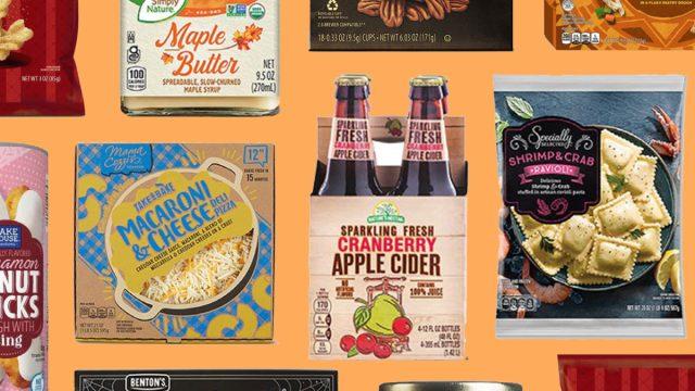 aldi fall items