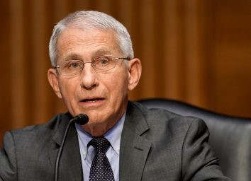 Dr. Anthony Fauci, director of the National Institute of Allergy and Infectious Diseases,