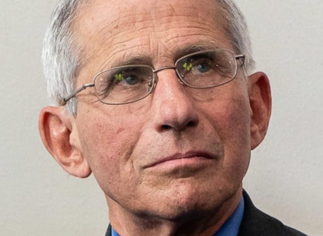 Dr. Anthony Fauci, Director at the National Institute Of Allergy and Infectious Diseases
