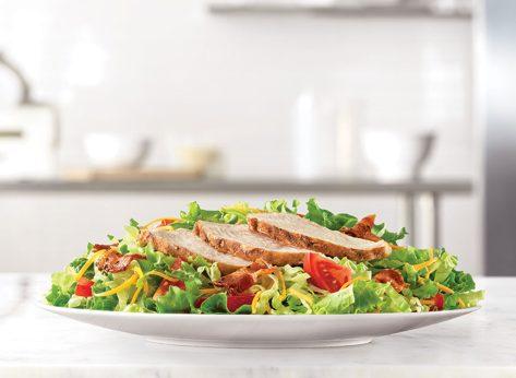 arbys roast chicken entree salad
