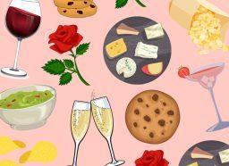 bachelor snacks