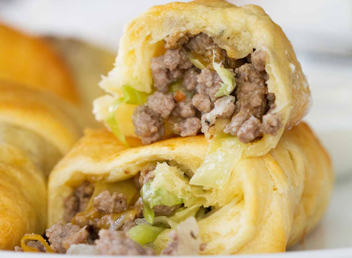 cabbage beef bundles