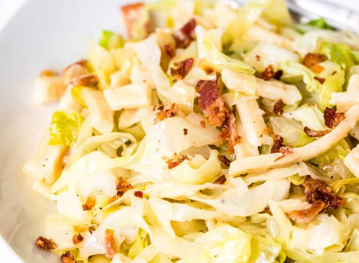 cabbage noodles