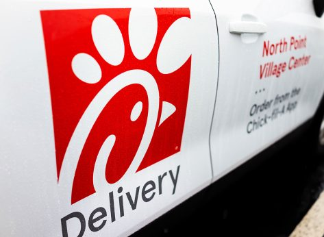 chick fil a delivery