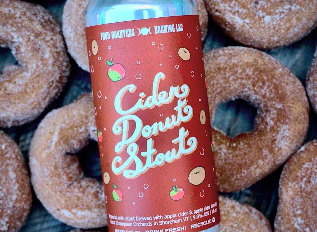 cider donut stout