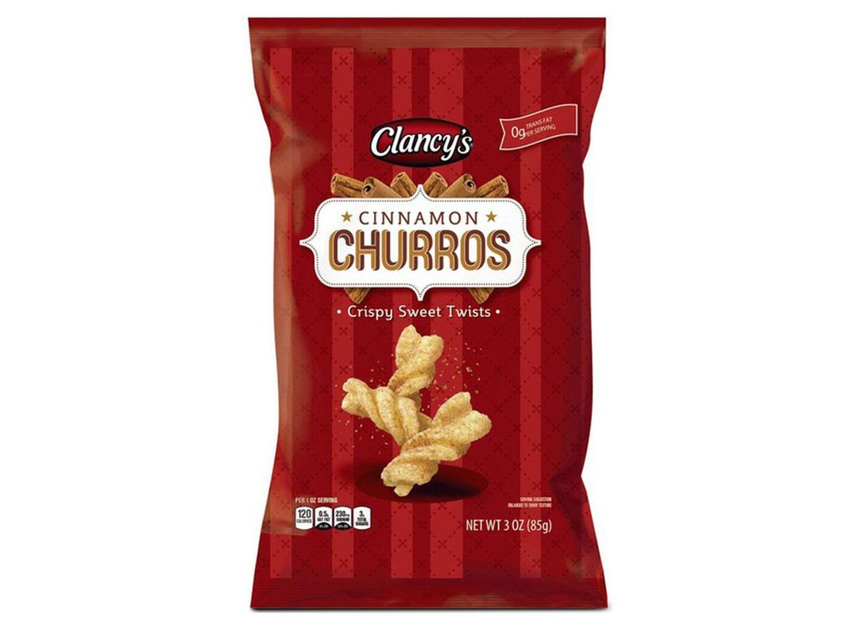 ALDI clancys cinnamon churros