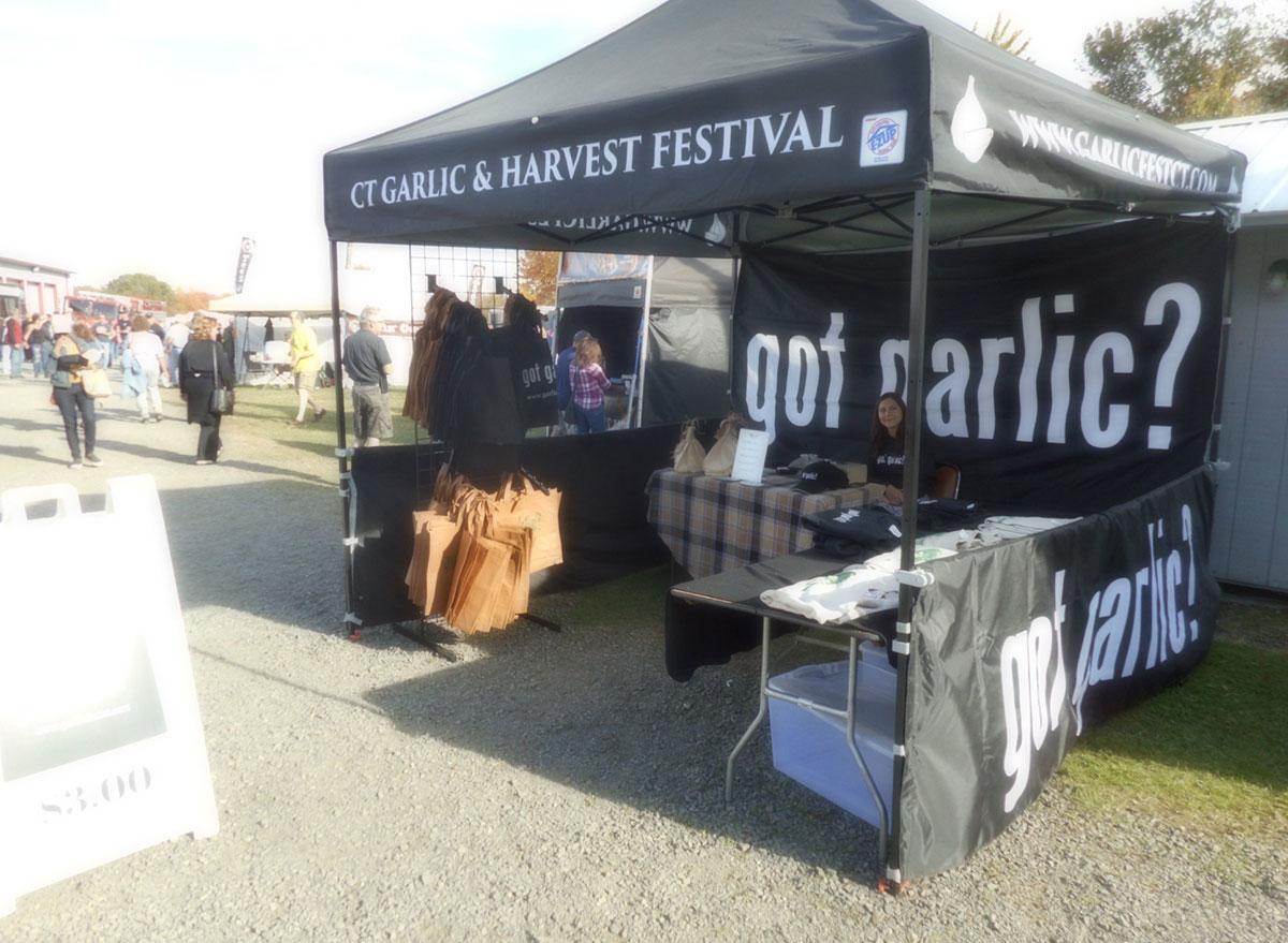 connecticut garlic harvest festival