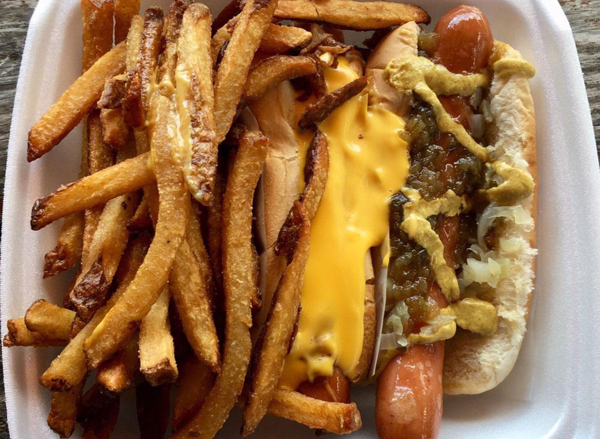 florida hazels hot dogs