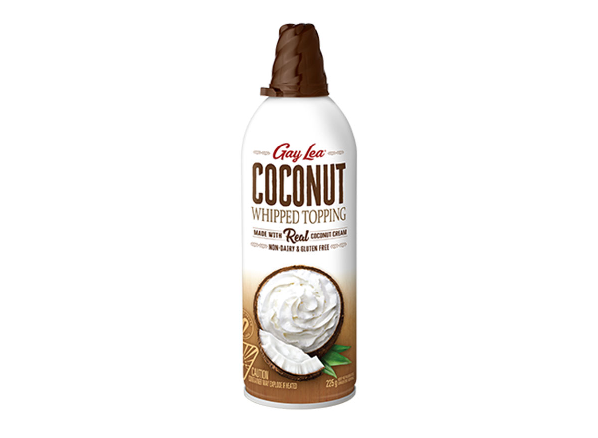 ALDI gay lea coconut whipped topping