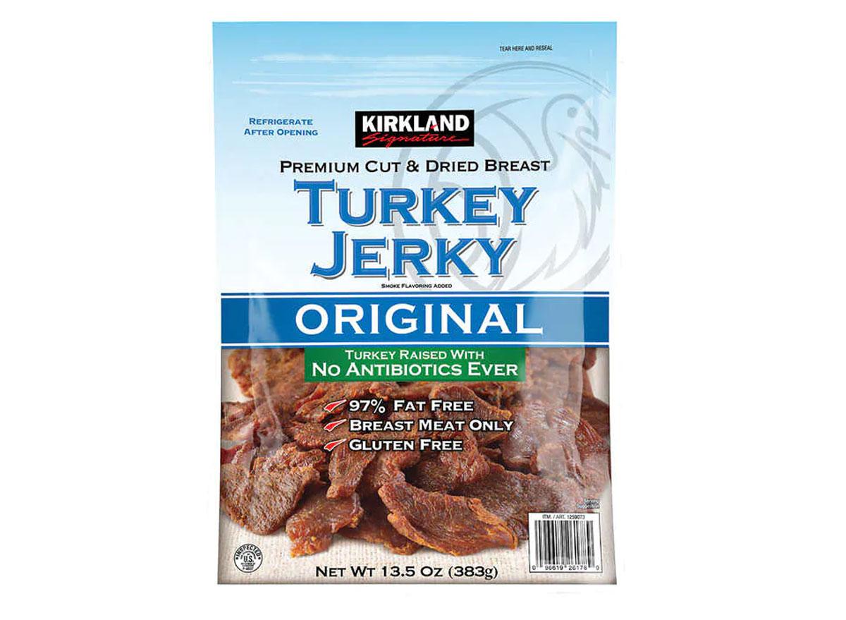 kirkland turkey jerky