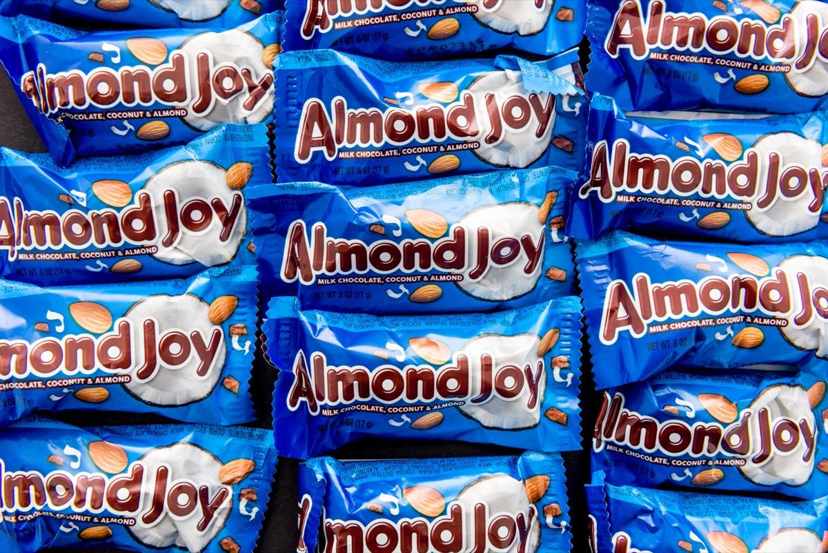 mini almond joy candies