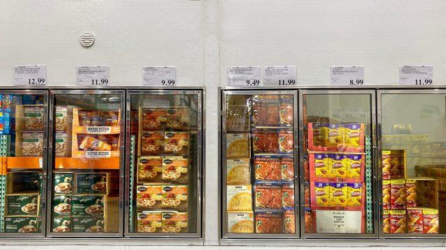 costco frozen pizza aisle