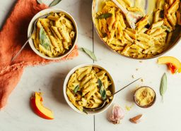 pumpkin mac and cheese