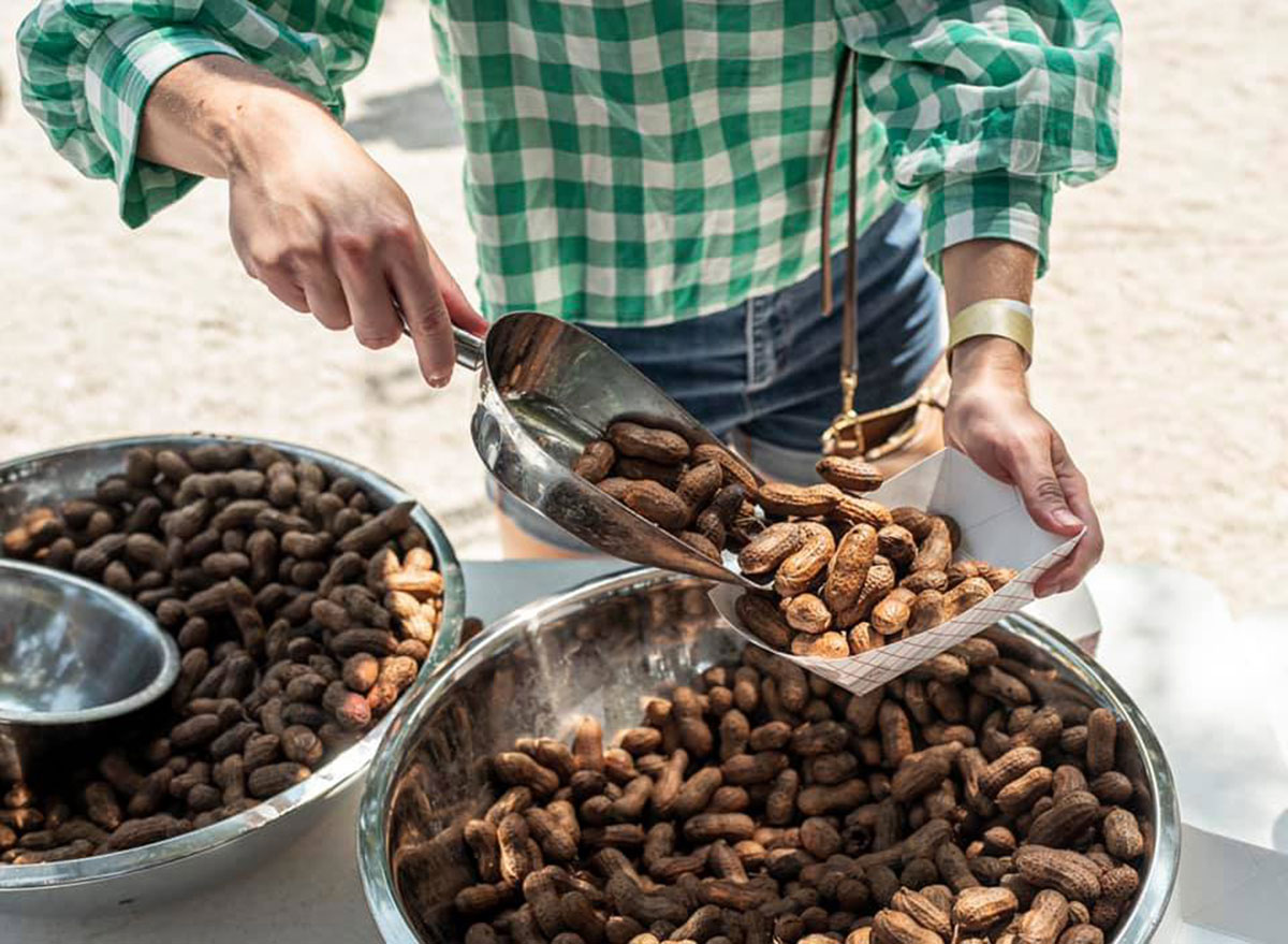 south carolina bluffton boiled peanut festival
