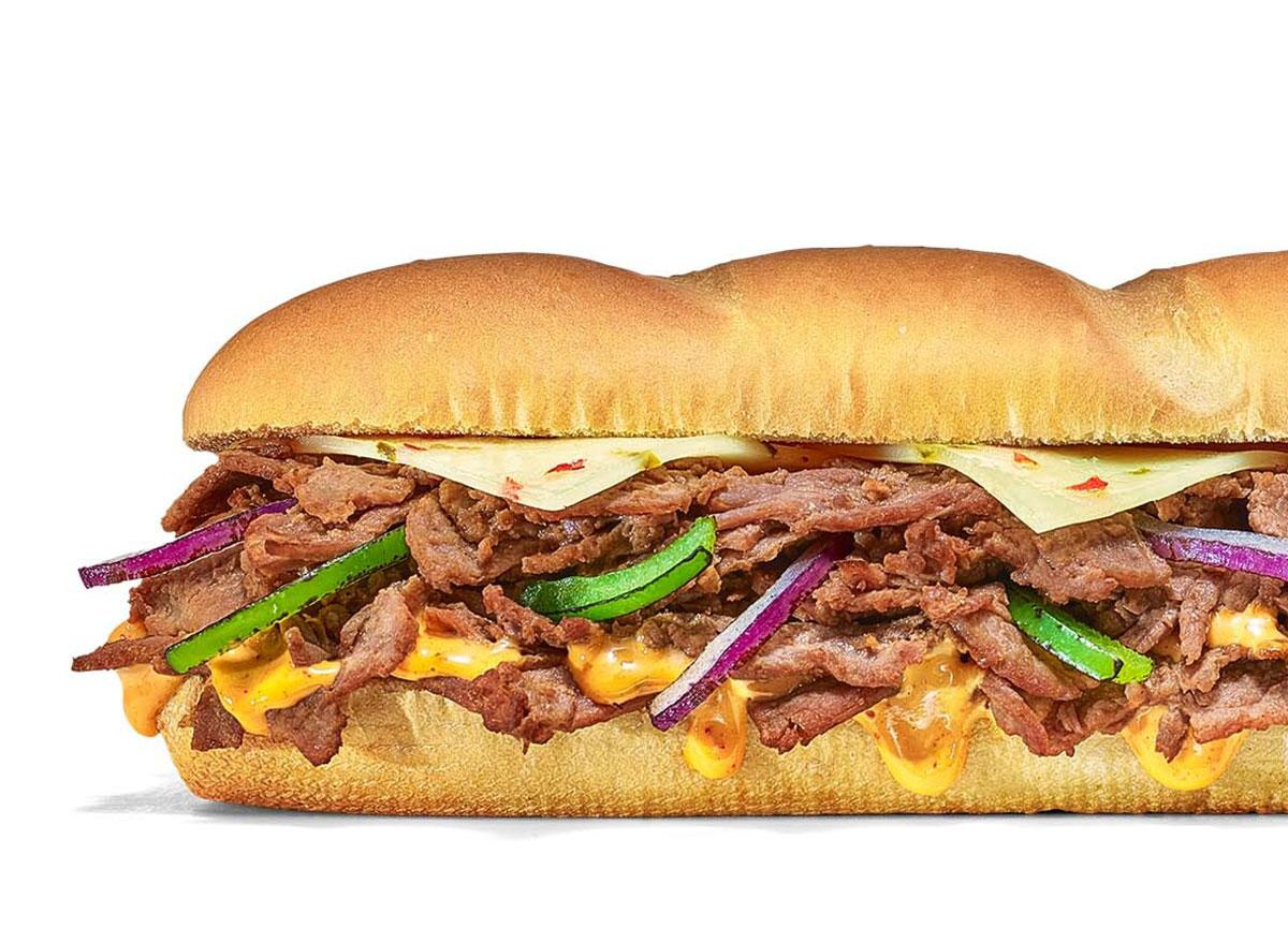 subway baja steak jack
