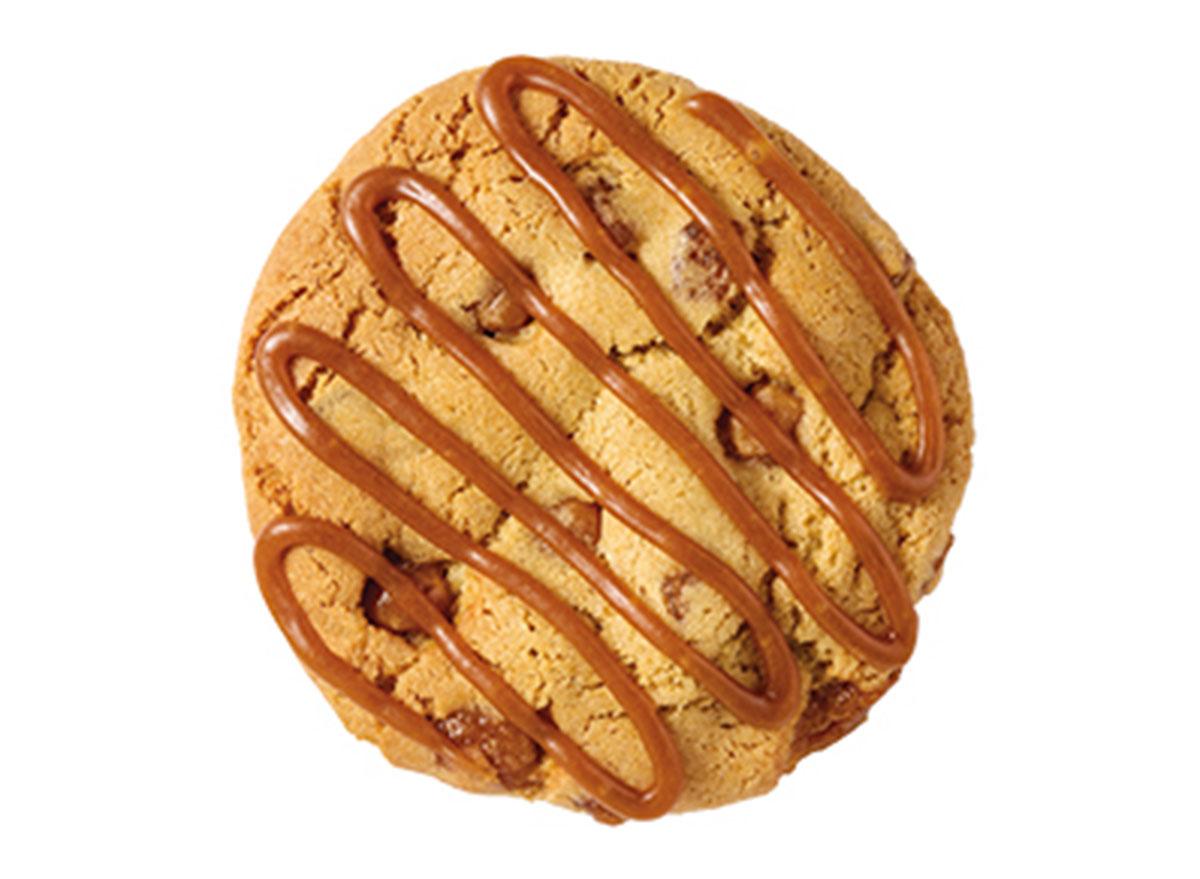 subway caramel apple cookie