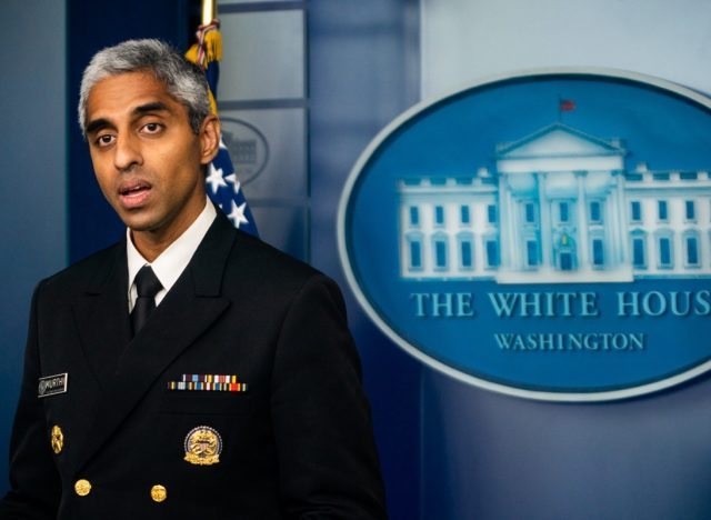 United States Surgeon General Vivek Murthy