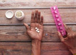 taking pills