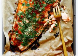 Herbed Sweet & Spicy Salmon